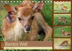 Bambis Welt (Tischkalender 2021 DIN A5 quer) von Hultsch,  Heike