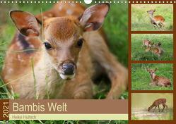 Bambis Welt (Wandkalender 2021 DIN A3 quer) von Hultsch,  Heike