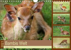 Bambis Welt (Wandkalender 2021 DIN A4 quer) von Hultsch,  Heike