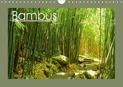 Bambus (Wandkalender 2018 DIN A4 quer) von by Sylvia Seibl,  CrystalLights