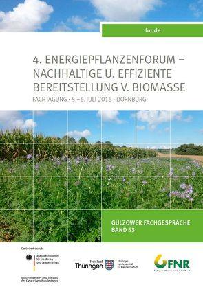 Band 53: 4. Energiepflanzenforum