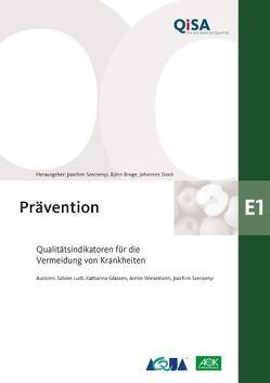 Band E1: Prävention von Broge,  Björn, Stock,  Johannes, Szecsenyi,  Joachim