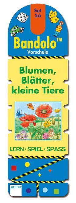 Bandolo Set 56. Blumen, Blätter, kleine Tiere von Barnhusen,  Friederike, Johannsen,  Bianca