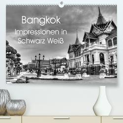 Bangkok Impressionen in Schwarz Weiß (Premium, hochwertiger DIN A2 Wandkalender 2021, Kunstdruck in Hochglanz) von Wittstock,  Ralf