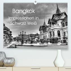 Bangkok Impressionen in Schwarz Weiß (Premium, hochwertiger DIN A2 Wandkalender 2020, Kunstdruck in Hochglanz) von Wittstock,  Ralf