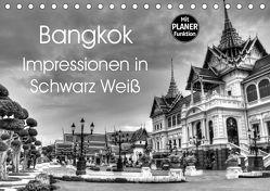 Bangkok Impressionen in Schwarz Weiß (Tischkalender 2019 DIN A5 quer) von Wittstock,  Ralf