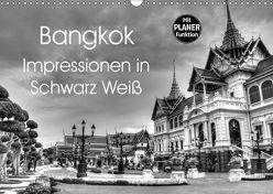 Bangkok Impressionen in Schwarz Weiß (Wandkalender 2019 DIN A3 quer) von Wittstock,  Ralf
