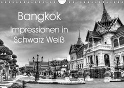 Bangkok Impressionen in Schwarz Weiß (Wandkalender 2019 DIN A4 quer) von Wittstock,  Ralf