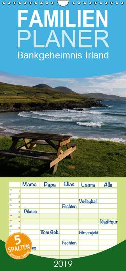 Bankgeheimnis Irland 2019 – Familienplaner hoch (Wandkalender 2019 , 21 cm x 45 cm, hoch) von Wersand,  René