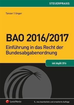 BAO 2016/2017 von Tanzer,  Michael, Unger,  Peter