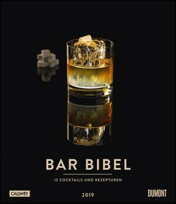 Bar-Bibel 2019 – Wandkalender im Hochformat 34,5 x 40 cm von Anadologlu,  Cihan, DUMONT Kalenderverlag