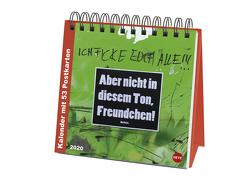 Barbara. Bekleben verboten Premium-Postkartenkalender Kalender 2020 von Barbara., Heye