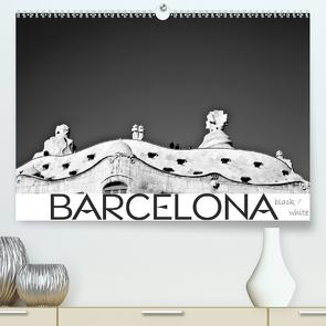 BARCELONA [black/white] (Premium, hochwertiger DIN A2 Wandkalender 2020, Kunstdruck in Hochglanz) von photography [Daniel Slusarcik],  D.S