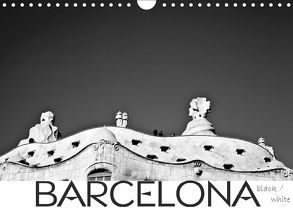 BARCELONA [black/white] (Wandkalender 2019 DIN A4 quer) von photography [Daniel Slusarcik],  D.S