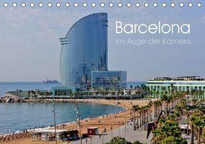 Barcelona im Auge der Kamera (Tischkalender 2018 DIN A5 quer) von Roletschek,  Ralf