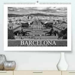 Barcelona Photografien in Schwarz / Weiß (Premium, hochwertiger DIN A2 Wandkalender 2020, Kunstdruck in Hochglanz) von Meutzner,  Dirk