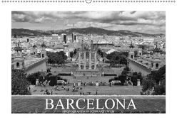 Barcelona Photografien in Schwarz / Weiß (Wandkalender 2018 DIN A2 quer) von Meutzner,  Dirk
