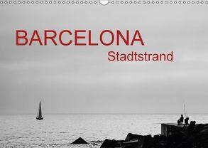 Barcelona – Stadtstrand (Wandkalender 2018 DIN A3 quer) von ledieS,  Katja