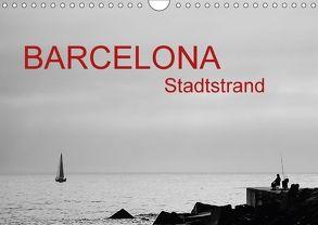 Barcelona – Stadtstrand (Wandkalender 2018 DIN A4 quer) von ledieS,  Katja
