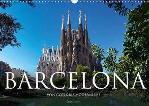 Barcelona – Von Gotik bis Modernisme (Wandkalender 2019 DIN A3 quer) von Bruhn,  Olaf