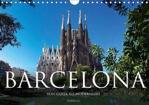 Barcelona – Von Gotik bis Modernisme (Wandkalender 2019 DIN A4 quer) von Bruhn,  Olaf