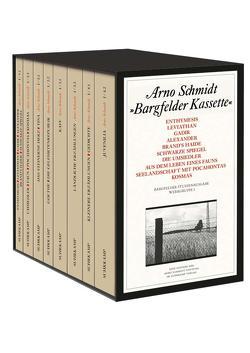 Bargfelder Ausgabe. Studienausgabe der Werkgruppe I: Romane, Erzählungen, Gedichte, Juvenilia von Schmidt,  Arno