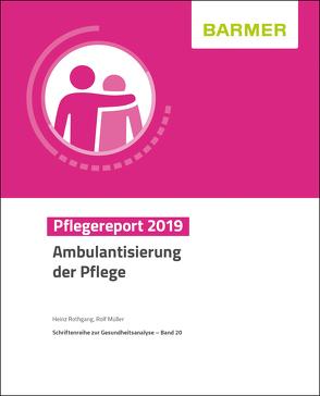 BARMER Pflegereport 2019 von Müller,  Rolf, Rothgang,  Heinz