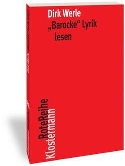 """""""Barocke"""" Lyrik lesen von Werle,  Dirk"""