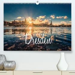 Barockperle Dresden (Premium, hochwertiger DIN A2 Wandkalender 2020, Kunstdruck in Hochglanz) von Becker,  Stefan