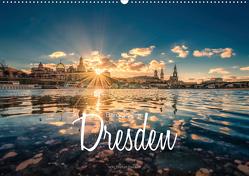 Barockperle Dresden (Wandkalender 2020 DIN A2 quer) von Becker,  Stefan
