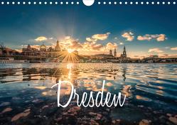 Barockperle Dresden (Wandkalender 2020 DIN A4 quer) von Becker,  Stefan