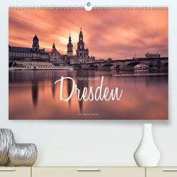 Barockstadt Dresden (Premium, hochwertiger DIN A2 Wandkalender 2020, Kunstdruck in Hochglanz) von Becker,  Stefan