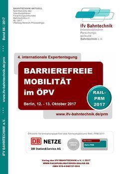 Barrierefreie Mobilität im ÖPV 2017 von Schulz,  Eckhard