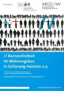 Barrierefreiheit Im Wohnungsbau in Schleswig-Holstein 2.0 von Cramer,  Antje, Schulze,  Thorsten, Walberg,  Dietmar