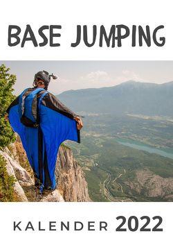 Base Jumping von Hübsch,  Bibi