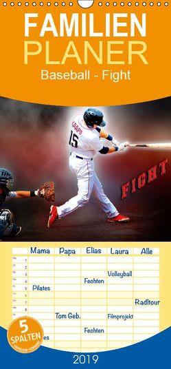 Baseball – Fight – Familienplaner hoch (Wandkalender 2019 , 21 cm x 45 cm, hoch) von Roder,  Peter