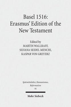 Basel 1516 von Greyerz,  Kaspar von, Seidel Menchi,  Silvana, Wallraff,  Martin