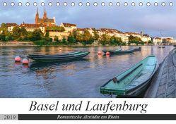 Basel und Laufenburg – Romantische Altstädte am Rhein (Tischkalender 2019 DIN A5 quer) von Schaenzer,  Sandra