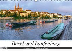 Basel und Laufenburg – Romantische Altstädte am Rhein (Wandkalender 2018 DIN A3 quer) von Schaenzer,  Sandra