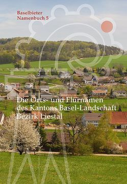 Die Orts- und Flurnamen des Kantons Basel-Landschaft von Ramseier,  Markus