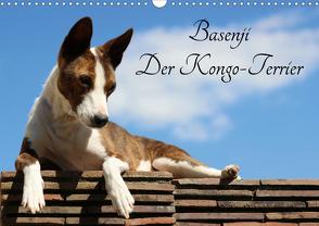 Basenji, der Kongo-Terrier (Wandkalender 2021 DIN A3 quer) von Wobst,  Petra