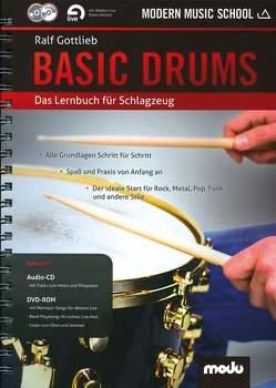 Basic Drums von Gottlieb,  Ralf