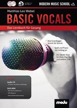 BASIC VOCALS von Webel,  Matthias Leo
