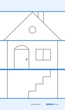 Basisschrift-Haus – magnethaftend
