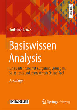 Basiswissen Analysis von Lenze,  Burkhard