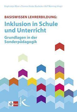 Basiswissen Lehrerbildung: von Amrhein,  Bettina, Lüthje-Klose,  Birgit, Riecke-Baulecke,  Thomas, Werning,  Rolf