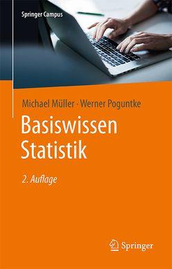 Basiswissen Statistik von Mueller,  Michael, Poguntke,  Werner
