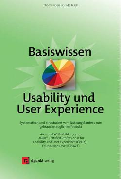 Basiswissen Usability und User Experience von Geis,  Thomas, Tesch,  Guido