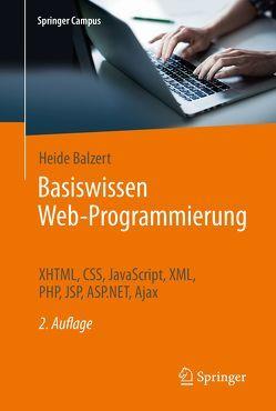 Basiswissen Web-Programmierung von Balzert,  Heide