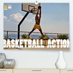 Basketball Action (Premium, hochwertiger DIN A2 Wandkalender 2020, Kunstdruck in Hochglanz) von Robert,  Boris
